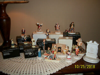 """Huge Collection of Sebastian Miniatures """"Must C"""" Mint in Boxes"""