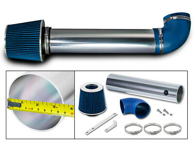 Short Ram Air Intake Kit+BLUE Filter for 05-10 Jeep Commander 5.7L HEMI V8