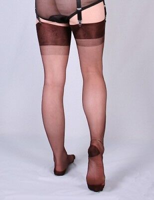 2prs of Lucky Circle Stockings Seamless RHT Color JAGUAR #500CE Size 10-1/2 NEW!