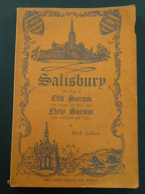 Vintage Visitor's Guide And History Of Salisbury, By Mark Gilbert