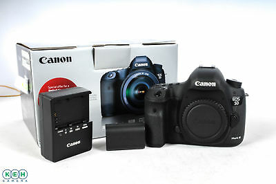 Canon EOS 5D Mark III Digital SLR Camera {22.3 M/P} Shutter Actuations: 17,232