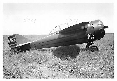 Vintage Aircraft Photo Nr57Y Cessna Cr-3 Racer 1933 Air Racing Flyer Race Plane