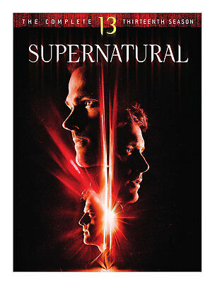 Supernatural: The Complete Thirteen Season 13 (Brand New, DVD, 5-Disc Set)