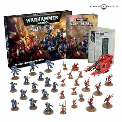 Warhammer 40k - Wake the Dead Box Set - Brand New! Free 2-Day Shipping! WTD-60