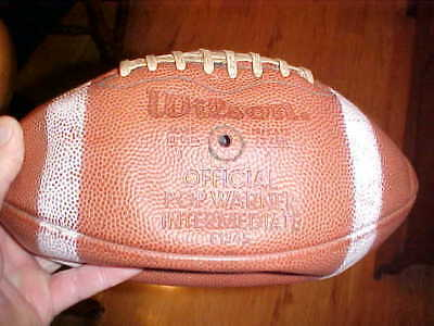 Vintage Wilson Official Pop Warner Intermediate F1345 Football