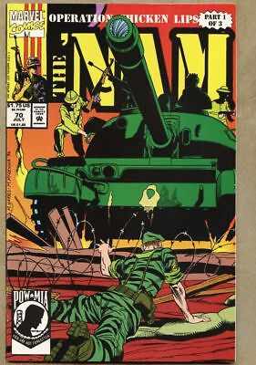 The 'Nam #70-1992 nm- 9.2 The Nam low print run later issue Marvel War
