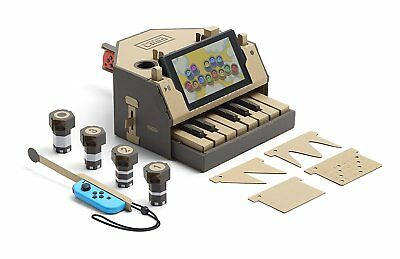 NINTENDO LABO * TOY CON 01 - PIANO for Nintendo SWITCH Variety Pack * NEW
