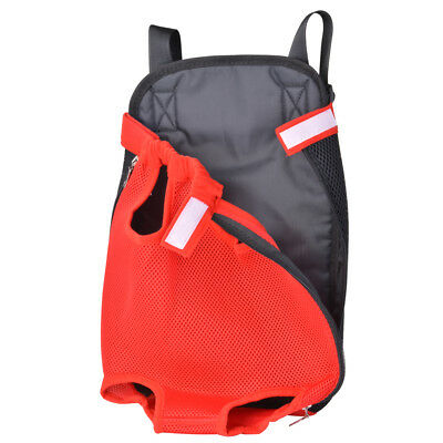 Reinforced Pet Backpack Puppy Bag Cat Dog Carrier for Outdoor Travel Red PS246