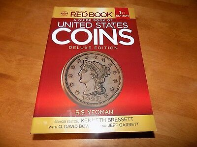 A GUIDE BOOK OF UNITED STATES COINS Deluxe 1st Edition Coin Numismatic Book NEW