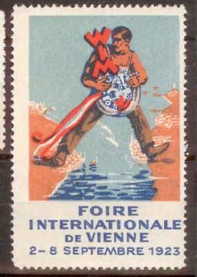 Reklamemarke 1923:  WIM Wiener Messe (Foire Internationale de Vienne)