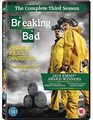 * NEW SEALED TV DVD * BREAKING BAD * Complete Series 3 - The Third Season