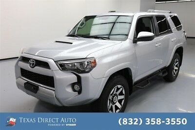 2017 Toyota 4Runner 4x4 TRD Off-Road 4dr SUV Texas Direct Auto 2017 4x4 TRD Off-Road 4dr SUV Used 4L V6 24V Automatic 4WD SUV