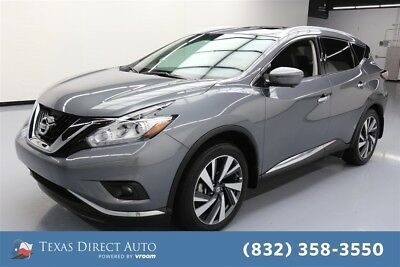2017 Nissan Murano Platinum Texas Direct Auto 2017 Platinum Used 3.5L V6 24V Automatic AWD SUV Bose