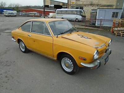 Fiat 850 Sport Coupe (1969) Orange! 1 Owner Just 49K! Solid Cool Project!