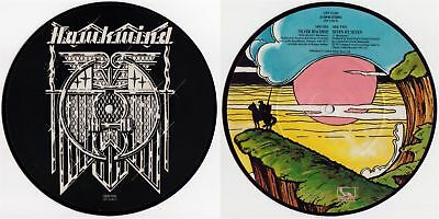 "HAWKWIND 'Silver Machine' 1982 UK reissue 7"" / 45 picture-disc, ft. LEMMY"