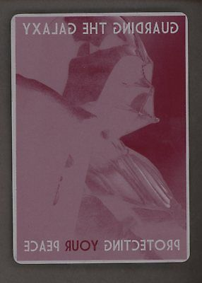 Star Wars Topps Printing Plate Chrome Perspectives #5 Guarding The Galaxy