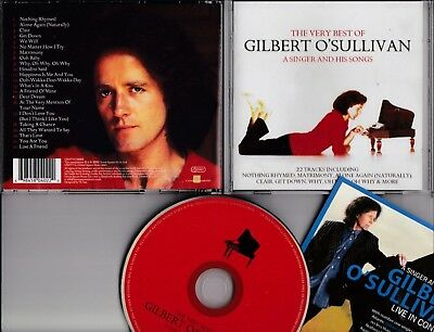 GILBERT O'SULLIVAN The Very Best Of A Singer And His Songs 22 tr CD UNION SQUARE