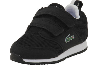 8ff9a3ba3d0cb Lacoste Toddler Boy s L.ight 117 1 Black Grey Sneakers Shoes