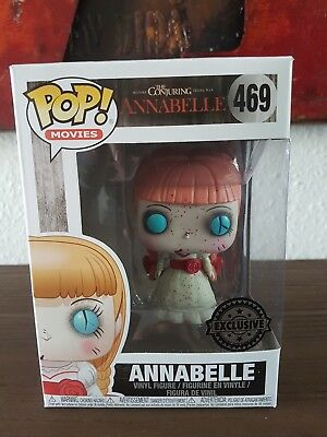 Funko Pop! 469 Annabelle Bloody Exclusive The Conjuring Figur Movies ☆ in Box ☆