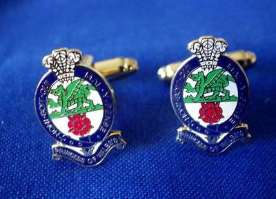 Princess Of Wales's Royal Regiment ( Pwrr ) Cuff Links Giftset