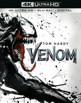 Venom (2018) (REGION A Blu-ray New)