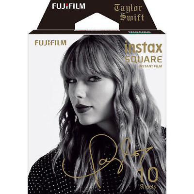 BRAND NEW Fujifilm Instax SQUARE Taylor Swift Edition Instant Film 10 Exposures