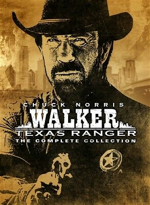 WALKER TEXAS RANGER COMPLETE COLLECTION New DVD Series Seasons 1 2 3 4 5 6 7 8 9