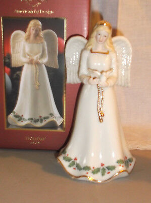 Lenox Holiday Angel With Dove Christmas Figurine New In Original Box