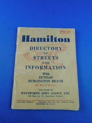 Hamilton Directory Of Streets And Information Dundas Burlington Beach Advertise