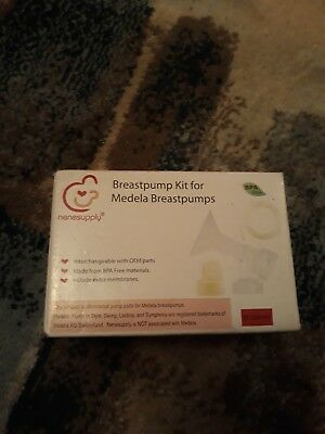 Nenesupply Breastpump Kit for Medela Pump In Style - Tubing and Valves M (24mm)