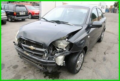 2007 Chevrolet Aveo LS 2007 Chevrolet Aveo LS Automatic 4 Cylinder NO RESERVE