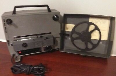 Vintage Gaf Anscovision 388 Dual Automatic 8mm Movie Projector