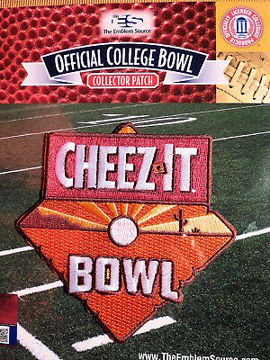 Official NCAA College Football Cheez-it Bowl 2018/19 Patch California & TCU