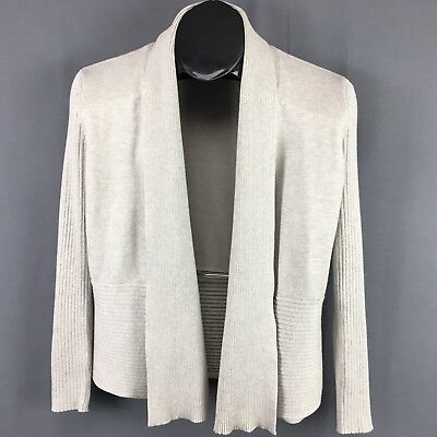 89th Madison Womens Draped Open Front Thin Cardigan Sweater Size