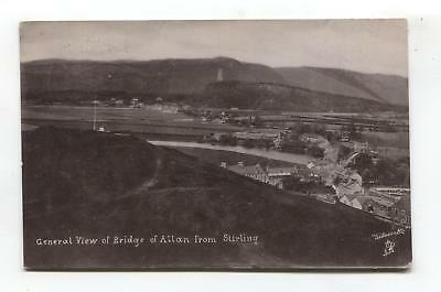Bridge of Allan - general view from Stirling - Tuck card No. 1946, used in 1920