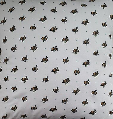 Sophie Allport Lay a Little Egg Chickens Fabric Remnant Fat Quarter 55 x 50cm