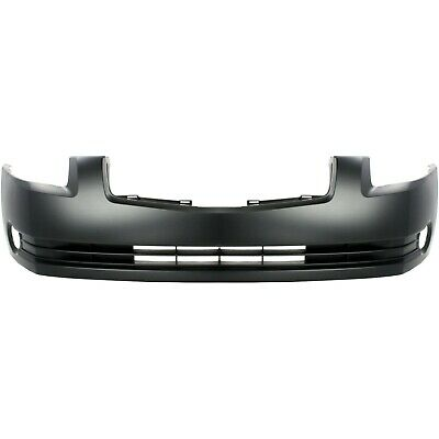 Front Bumper Cover For 2013-2015 Nissan Sentra w// fog lamp holes Primed