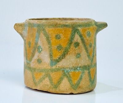 EX CHRISTIE'S Rare Near Eastern Glazed Vessel - 2nd Millennium BC