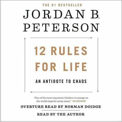 12 Rules for Life : An Antidote to Chaos by Jordan Peterson  (2018, eBook;pdf)