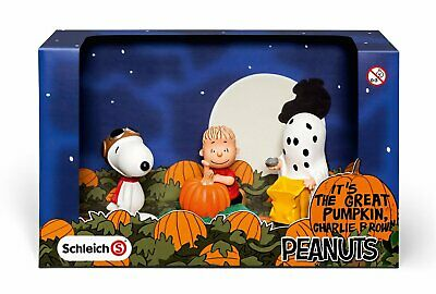 Schleich Peanuts Snoopy Scenery Pack Halloween Personaggi 22015
