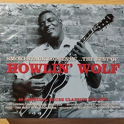 2CD NEW - THE BEST OF HOWLIN' WOLF - Chicago Blues Rock Pop Music 2x CD Album