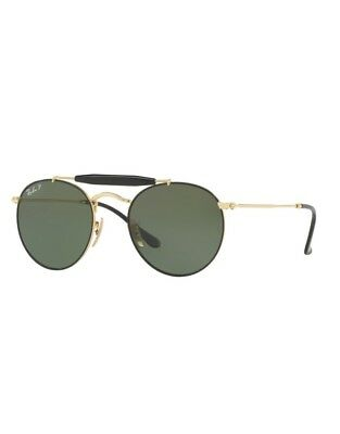 Sonnenbrille Ray Ban NEW RB3747 9000 58 50 Gold Black Green Polarized 956da5d1bf