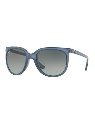 c83cdce59a Sonnenbrille Ray Ban CATS 1000 RB4126 6303 71 57 Trasparent Blue Grey  Gradient