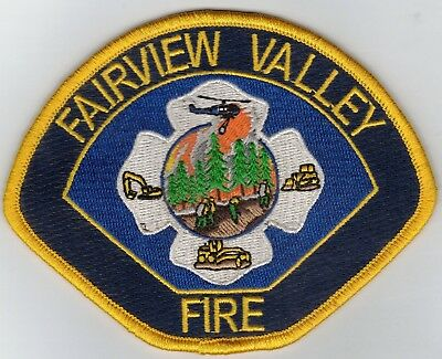 FAIRVIEW VAlLEY FIRE-PATCH-FOUR 1/2 INCHES WIDTH-SUPER NICE