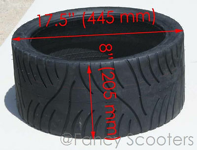Choppers 4 PLY Tubless Tire 205/40-14 NHS (205-40-14) PART12254