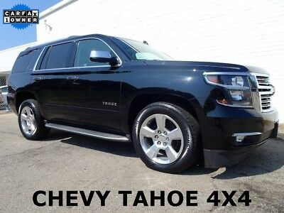 2015 Chevrolet Tahoe LTZ Sport Utility 4-Door 4X4 Chevy SUV We Finance We Ship 2015 Chevrolet Tahoe 4X4 Chevy SUV LTZ Sport Utility 4-Door Loaded SUV 1-Owner
