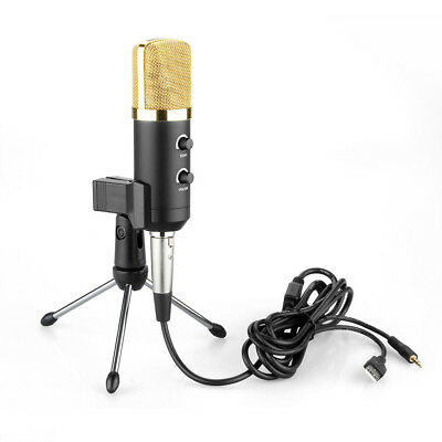 2019 Professional USB Condenser Studio Sound Recording Microphone with Stand