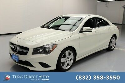 2015 Mercedes-Benz CLA-Class CLA 250 Texas Direct Auto 2015 CLA 250 Used Turbo 2L I4 16V Automatic AWD Sedan Premium