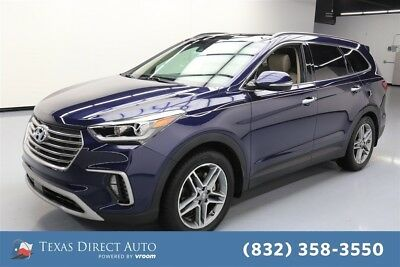 2017 Hyundai Santa Fe SE Ultimate Texas Direct Auto 2017 SE Ultimate Used 3.3L V6 24V Automatic FWD SUV