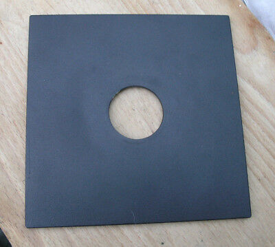 pattern  Sinar F & P fit  lens board panel with copal compur 0  34.8mm  hole